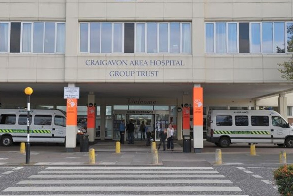 Craigavon Area Hospital Entrance