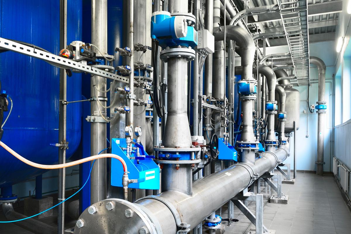 Carmoney Water Treatment Works