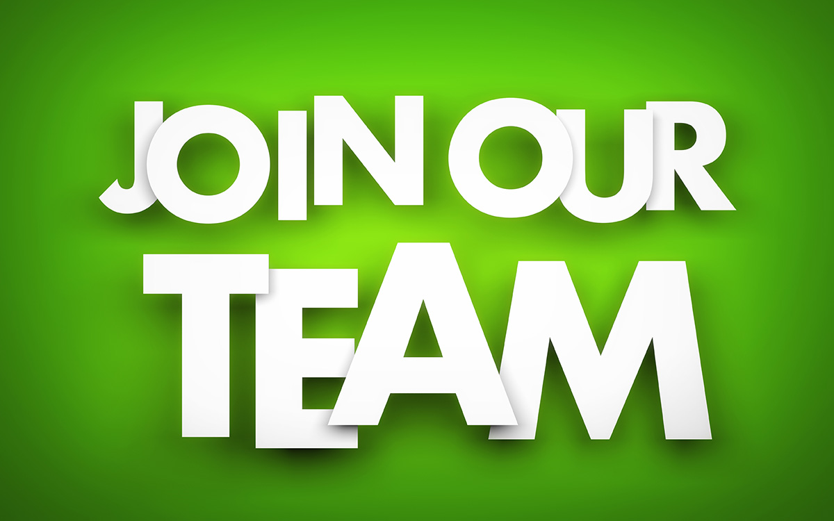 We are hiring………………come and join our team!!!!