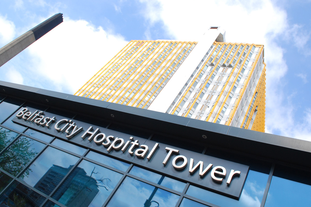 Belfast City Hospital Tower