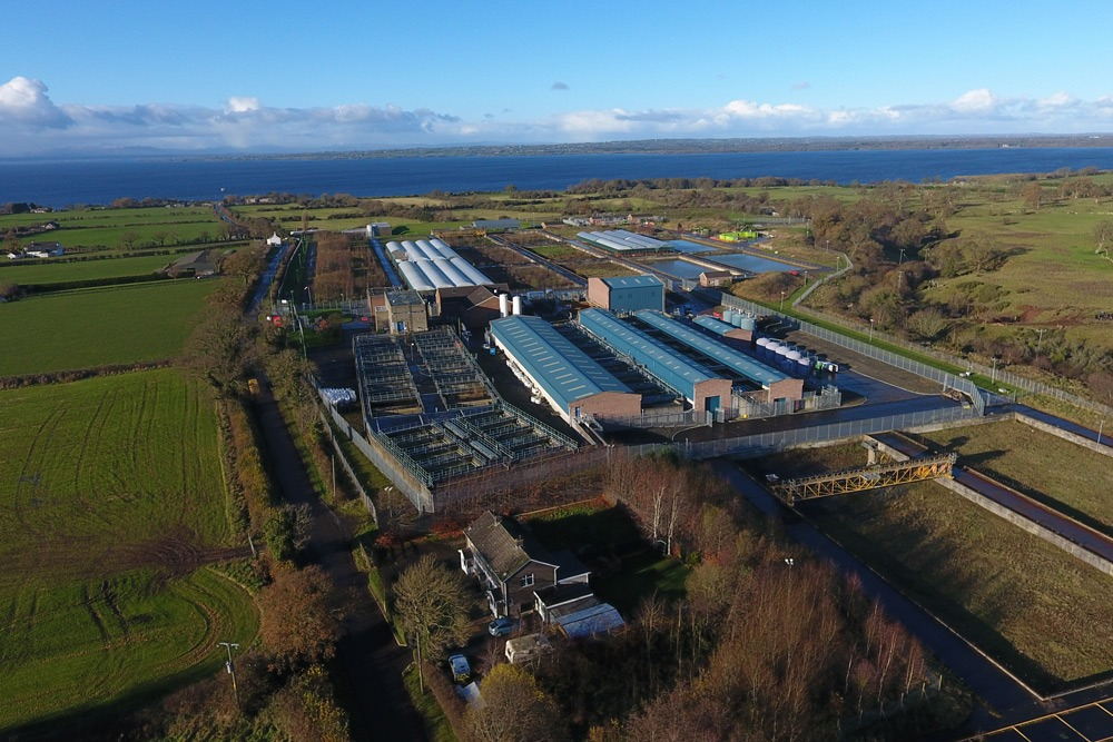 Dunore Point Water Treatment Works by MDE Installations