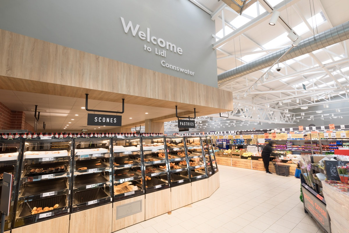 Lidl Connswater, Belfast by MDE Installations