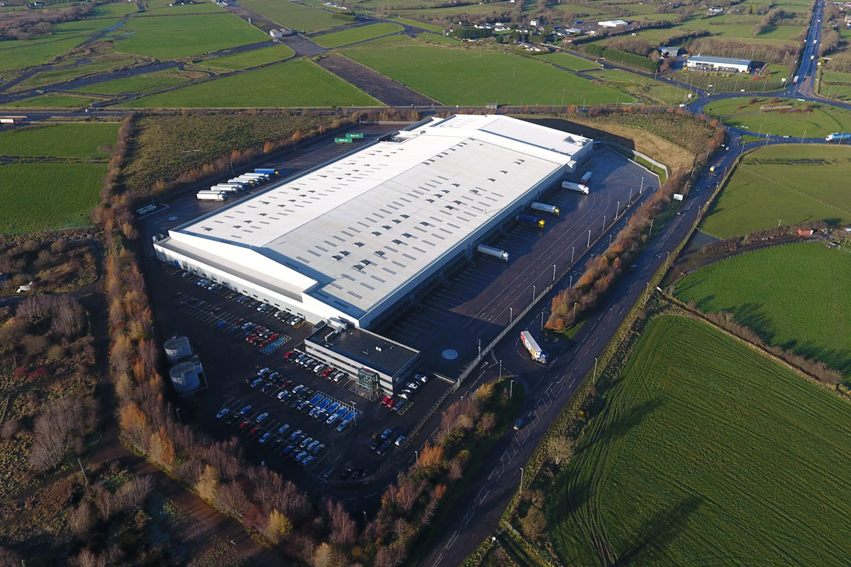 Lidl Regional Distribution Centre, Nutts Corner by MDE Installations