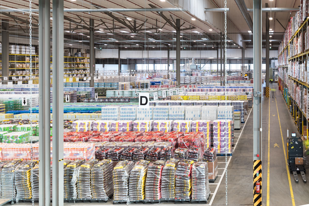 Lidle Regional Distribution Centre Warehouse